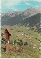 NEUSTIFT I Stubaital Geg. Serles Und Kesselspitze 2726 M, Austria, Used Postcard [21970] - Neustift Im Stubaital