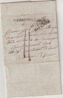 """ALLEMAGNE : """" R2 ASCHAFFENBURG """" .POUR VERVIERS . ALL PAR MAYENCE . 1813 .. - [1] ...-1849 Precursores"""
