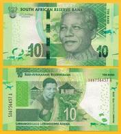 South Africa 10 Rand P-new 2018 Commemorative Nelson Mandela UNC - Afrique Du Sud