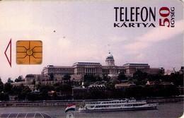 TARJETA TELEFONICA DE HUNGRIA. CASTILLO DE BUDA. HU-P-1995-10. (172) - Hungría