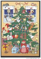 Feuille De Vignettes De Noël Des Iles Aland 1997 Neuve - Aland