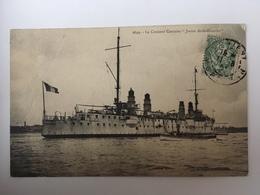"""Le Croiseur Corsaire """"Jurien De La Gravière"""" - Oorlog"""