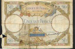 FRANCE – 50 Francs – 05/07/1934 - 50 F 1927-1934 ''Luc Olivier Merson''