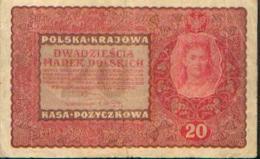 POLOGNE – 20 Marek – 28/08/1919 - Pologne