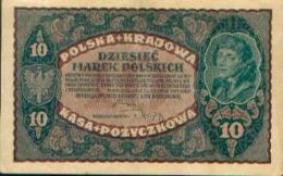 POLOGNE – 10 Marek – 28/08/1919 - Pologne