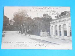 """33 ) Le Moulleau - N° 49 - Paiserie ; Confiserie  """" GOOD-LUCK - Année  - EDIT - M.D - France"""