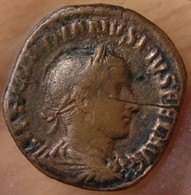 Gordien III Sesterce +242 Rome Gordien III Debout à Droite - 5. L'Anarchie Militaire (235 à 284)
