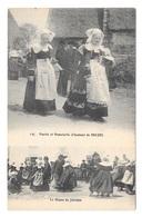 (22019-29) Mariée Et Demoiselle D' Honneur De Beuzec - La Danse Du Jabadao - Beuzec-Cap-Sizun