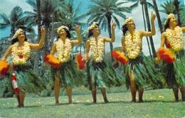 Etats-Unis  HAWAI HAWAIIAN DANCERS Dance Danse Danseurs *PRIX FIXE - Maui