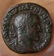 Maximin I Thrace Sesterce +236 Rome Gordien III Debout à Droite - 5. L'Anarchie Militaire (235 à 284)