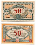 1914-1918 // C.D.C. // MARSEILLE // 5 Juin 1917 // 50 Centimes - Cámara De Comercio