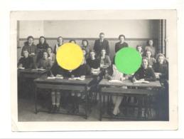 Photo (13 X 18 Cm) D'une Classe De Filles, école, élève,... Peut-être à Verviers ? - A SITUER (b238) - Lieux
