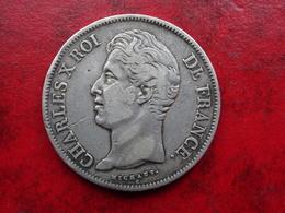 5 F Charles X 1830A - Tranche En Relief - Très Rare -  R2 - 4000 Exemplaires - Etat TTB - J. 5 Francs