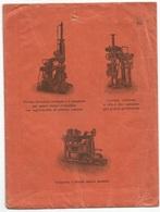 Presse Idrauliche Torchio Gramola Bacile - Bella Busta Illustrata Monza 6apr1915 X Lonigo Floreale C.2 Coppia Stampe 2°P - Fabbriche E Imprese