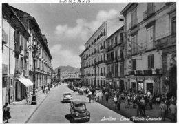 [DC7848] CPA - AVELLINO - CORSO VITTORIOM EMANUELE - ANIMATA - AUTO - Viaggiata - Old Postcard - Avellino