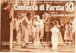 [DC7858] CPM - CONTESSA DI PARMA - GIRATO A TORINO - GIULIO BOLAFFI EDITORE - Non Viaggiata - Cinema