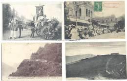 4 CPA Luchon : Fête Des Fleurs / Chemin De Fer, Train ( S3003 ) - Luchon