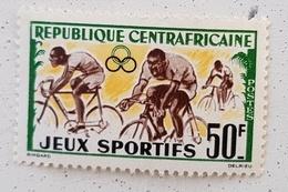 CENTRAFRIQUE Vélo Cycliste Bicycle Cycling Fahrrad Radfahrer Bicicleta Ciclista Ciclism, Yvert N° 20  Sans Gomme - Ciclismo