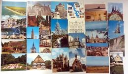 100 Zichtkaarten Vooral België En Frankrijk - CPA France Et Belgique - Cartes Postales