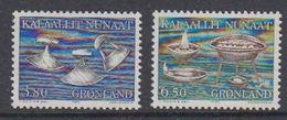 Greenland 1986 Gebrauchsgegenstände 2v ** Mnh (41074) - Greenland