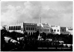 [DC7867] CPA - SOMALIA ITALIANA - MOGADISCIO - PALAZZO GOVERNATORIALE - Viaggiata1936 - Old Postcard - Somalia