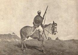 [DC7868] CPA - ETIOPIA - CAPO INDIGENO ABISSINO SU MULETTO - Viaggiata - Old Postcard - Etiopia