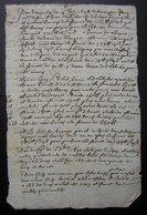 1702, Document Concernant Jean Labiche Et Sa Femme (région De Montauban) - Manuscripts
