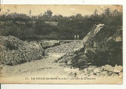 91 - LA VILLE DU BOIS / UN COIN DE LA CARRIERE - France