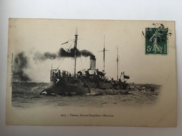 Fleurus, Contre-torpilleur D'Escadre - Oorlog