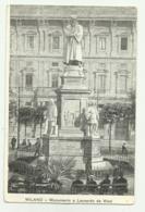 MILANO - MONUMENTO A LEONARDO DA VINCI - NV FP - Milano (Milan)