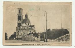 VICENZA - BASILICA M.BERICO - PIAZZALE VITTORIA - VIAGGIATA FP - Vicenza