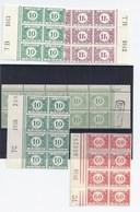 1922+  5 Blocs Avec Dépot  **   Très Frais   33  33a  40  43a - Taxes