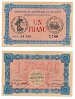 1914-1918 // C.D.C. // BELFORT // 6 Janvier 1916 // 1 FRANC - Chamber Of Commerce