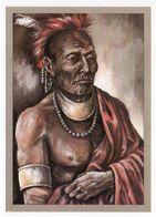 Thème  Indiens -- KRIEGER DER OSTLICHEN  --- Illustrateur Et Texte  K-D  KUBAT - Indiens De L'Amerique Du Nord