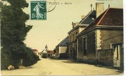 10625 -  Saone Et Loire -   VERJUX  :   La Mairie  -   Circulée En 1908 - Other Municipalities