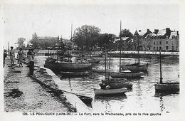 44)   LE  POULIGUEN  -  Le Port Vers La Promenade Pris De La Rive Gauche - Le Pouliguen