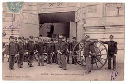 3022 - Dreux ( 28 ) - Les Pompiers : Officiers Et Gradés ( 3 ) - Col. J.Lefebvre - Dreux