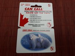 Prepaidcard Can Call Bear Used Rare 2 Scans - Etats-Unis