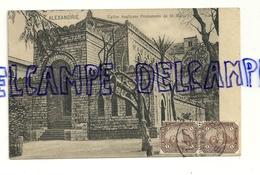 Egypte. Alexandrie. Eglise Anglicane Protestante De St Marc. 1909 - Alexandrie