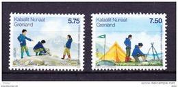 Groenland 2007 Nr 460/61 ** Zeer Mooi Lot Krt 2959 - Collezioni (senza Album)