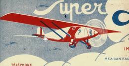 1932 HUILES SUPER AEROLINE NEW TORK MOTOR OIL Salon De Provence B.E.VOIR SCANS - Belgique