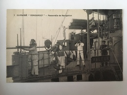 Cuirassé Condorcet - Passerelle De Navigation - Oorlog