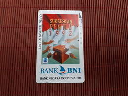 Phonecard Indonesia 60 Units Bank BNI Used Rare - Indonesia