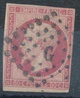 N°17 LETTRE G. - 1852 Louis-Napoléon