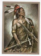 Thème  Indiens --DAKOTA-KRIEGER   --- Illustrateur Et Texte  K-D  KUBAT - Indiens De L'Amerique Du Nord