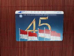 Phonecard Indonesia 280 Units Used Rare - Indonesia
