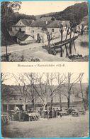 KUNRATICE (Prague- Praha) - Restaurnat And Water Mill (Czech Republic 1922. ) Wassermühle Moulin à Eau Watermill - Czech Republic