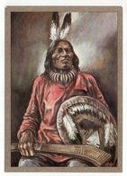 Thème  Indiens -- DAKOTA-KRIEGER   --- Illustrateur Et Texte  K-D  KUBAT - Indiens De L'Amerique Du Nord