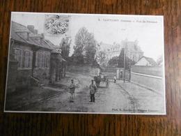 D 80 - Cartigny - Rue De Péronne -  2è Salon De La Carte Postale - Lundi 1 Mai 1989 - France