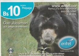 Bolivia - Entel  - Oso Jucumari - Bolivia